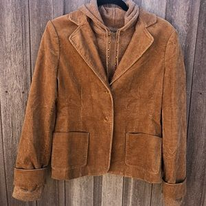 BCBG MAXAZRIA NWOT Corduroy Jacket